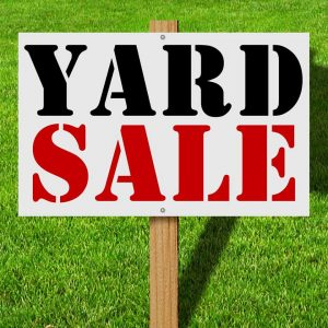 Having a Yard Sale with Kids: Getting Rid of Children's Junk