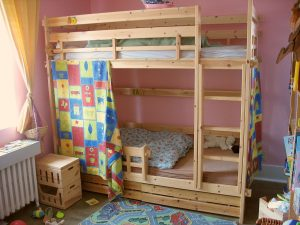 Multicolour Coaster Bunk Bed Slide Tent